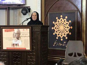 نوش آفرین انصاری-دبیر شورای کتاب کودک